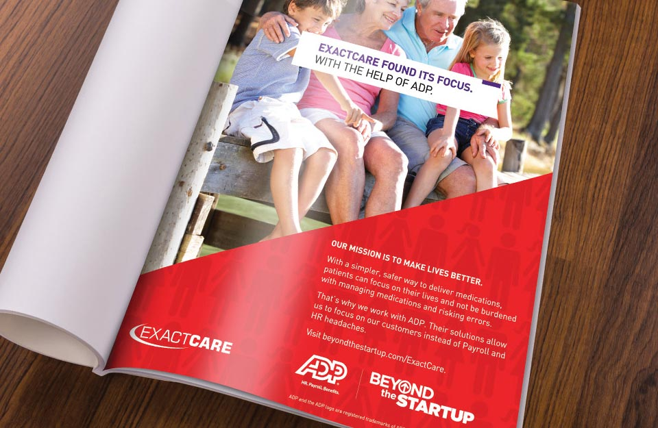 ADP Beyond the Startup Magazine Ad