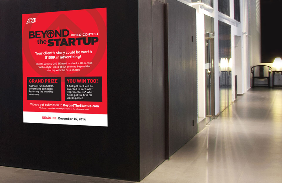 ADP Beyond the Startup Office Poster