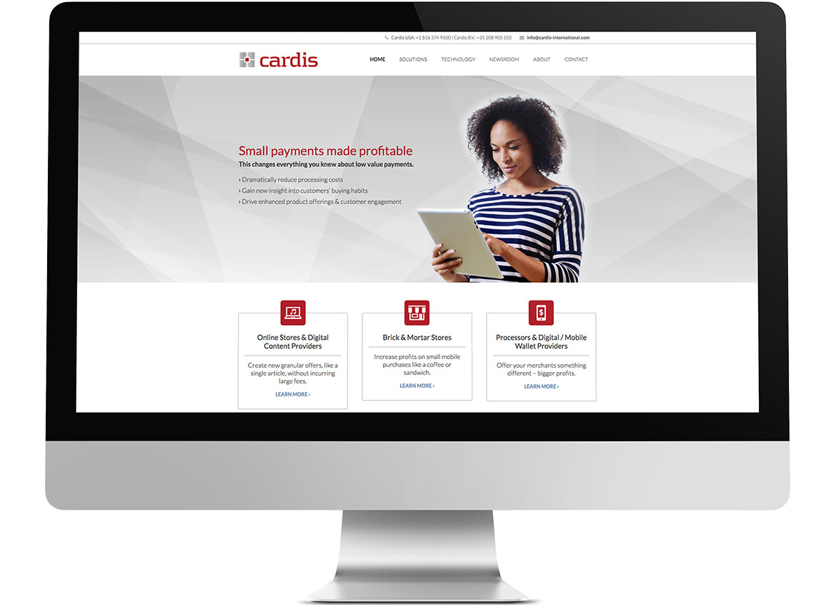 Cardis International Website